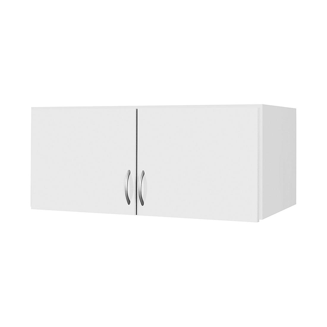 Schrankaufsatz Case – Alpinweiß – Aufsatzbreite: 181 cm – 4-türig, Rauch Pack´s günstig