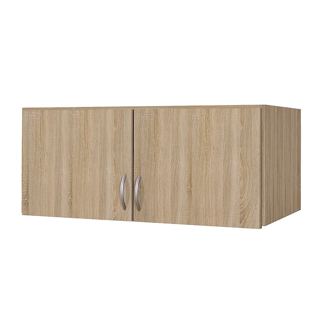 Schrankaufsatz Case - Sonoma Eiche Dekor (Aufsatzbreite: 91 cm - 2-türig)