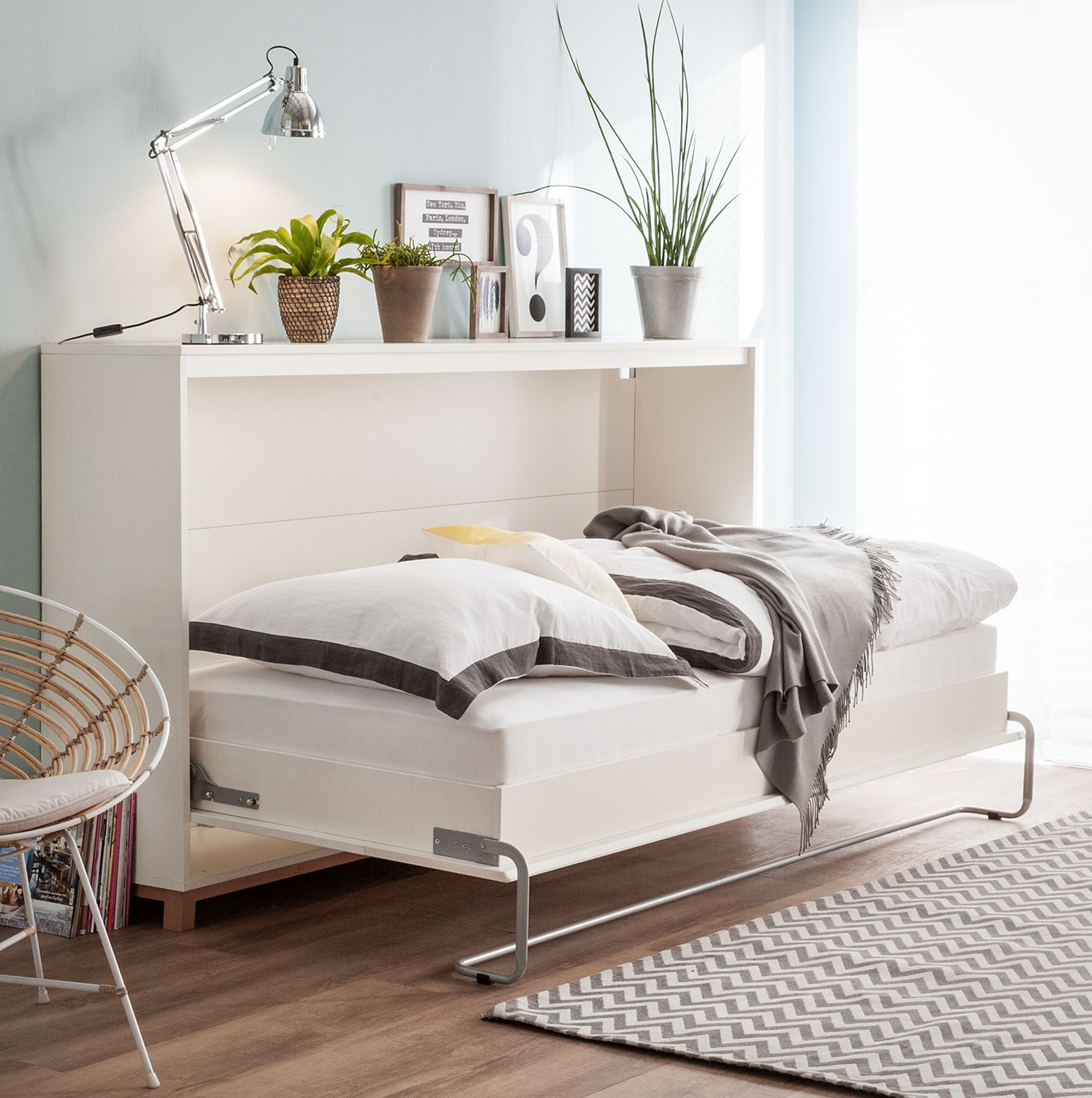 opklapbed kopen online internetwinkel. Black Bedroom Furniture Sets. Home Design Ideas