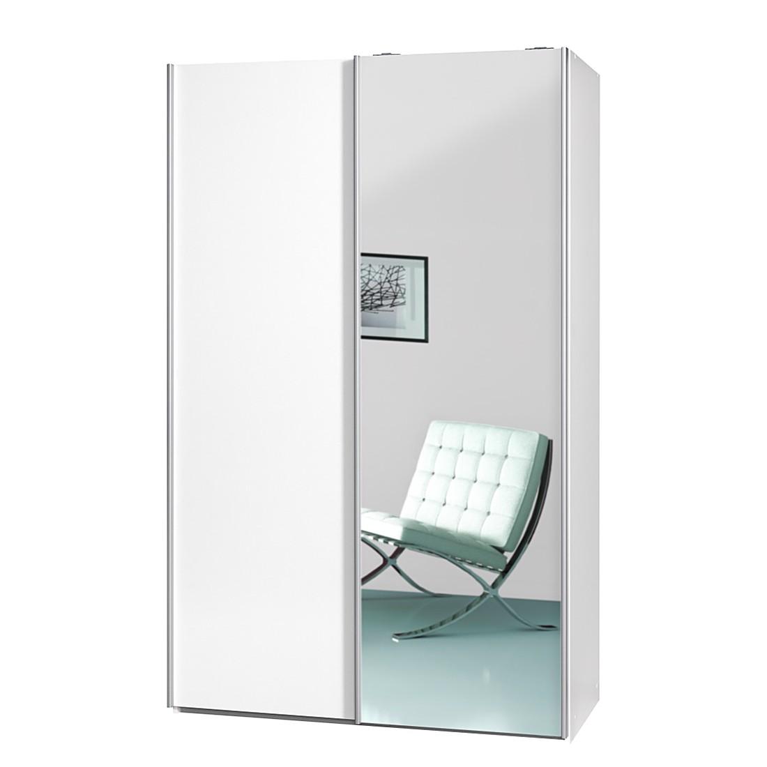 Schwebetürenschrank Soft Smart Ii Weißspiegel Breite 120 Cm