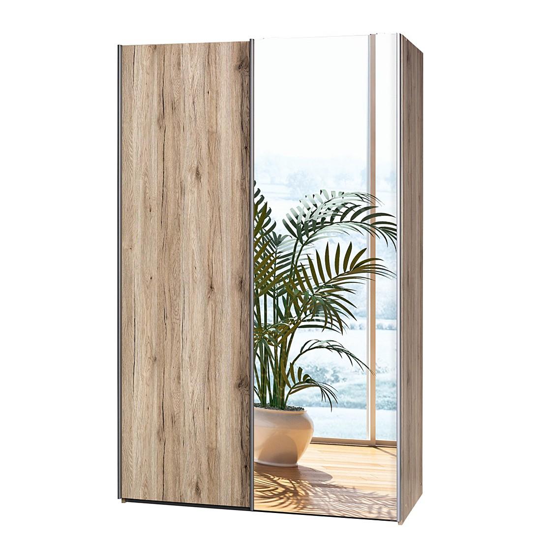sideboard soft smart ii eiche dekor hochglanz wei cs schmal kaufen. Black Bedroom Furniture Sets. Home Design Ideas