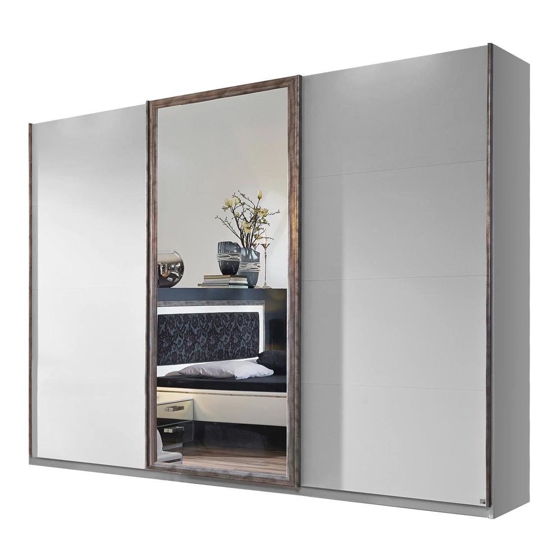 Armoires penderies pas cher porte coulissante fs inspire - Porte coulissante miroir pas cher ...