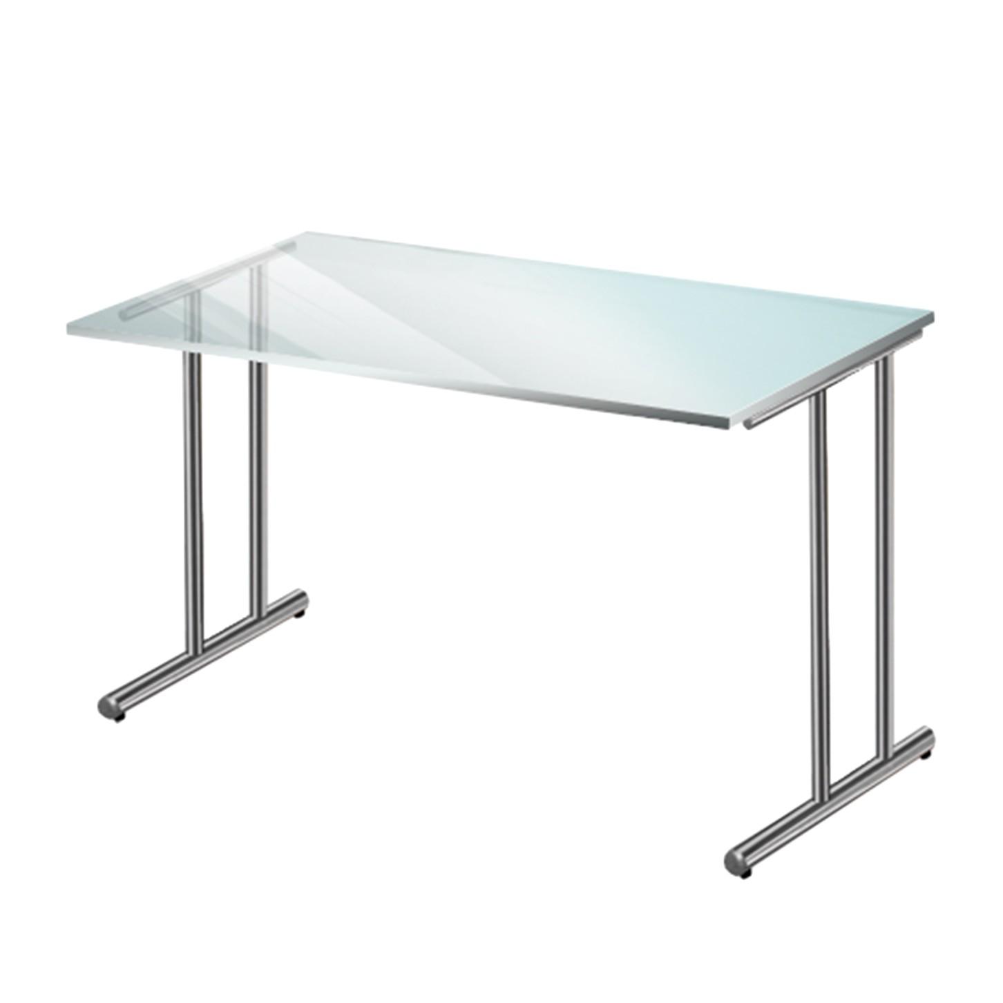 Schreibtisch glas g nstig kaufen for Glas schreibtisch