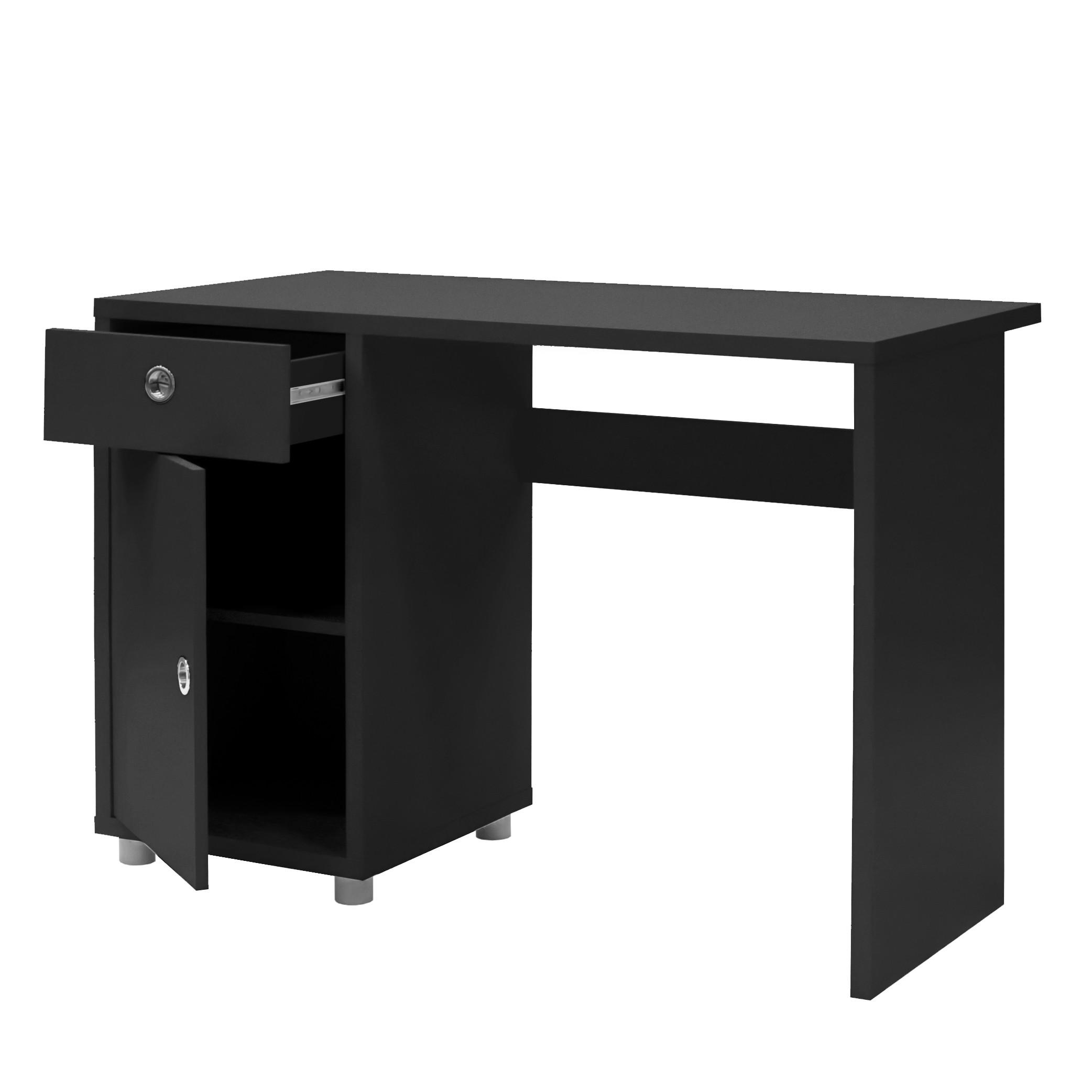computertisch schwarz g nstig kaufen. Black Bedroom Furniture Sets. Home Design Ideas