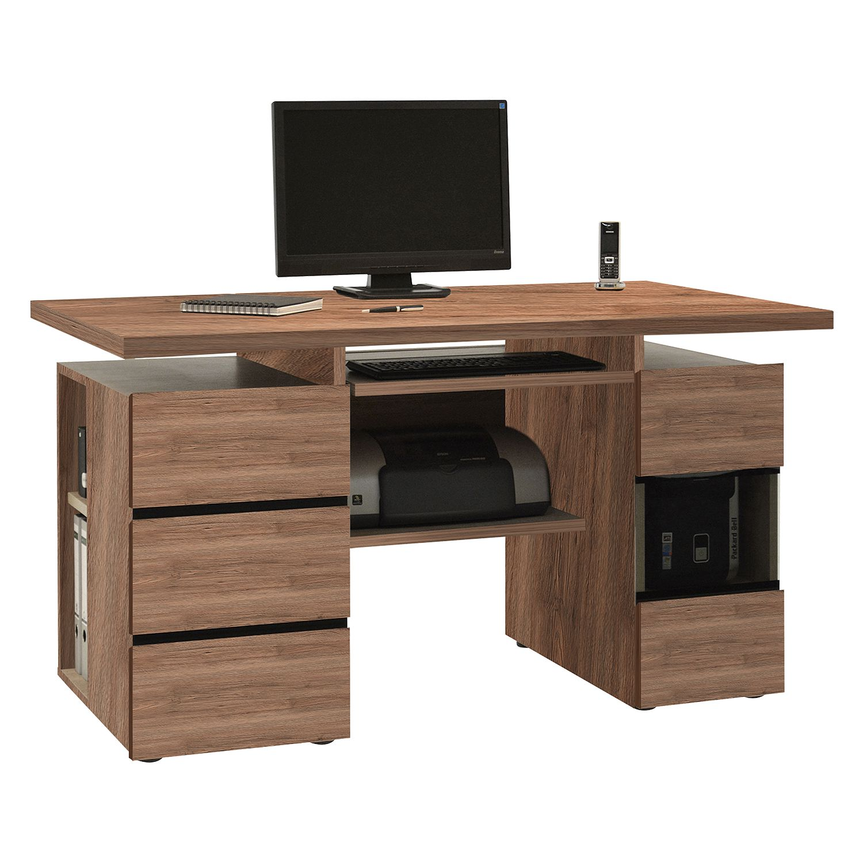 schreibtisch eiche san remo dunkel supremebookings. Black Bedroom Furniture Sets. Home Design Ideas
