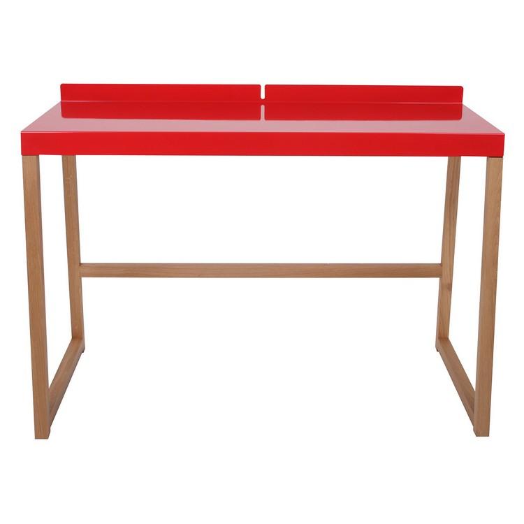 Schreibtisch Cubanova – Rot, LIVIT günstig kaufen