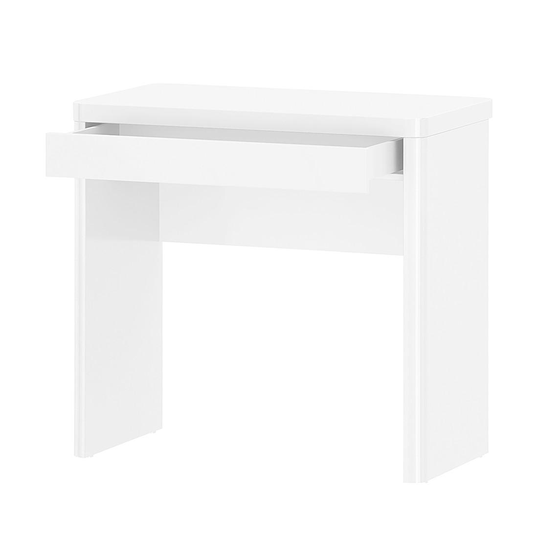 Schreibtisch Cuuba Libre 80 – Hochglanz Weiß, Jahnke bestellen