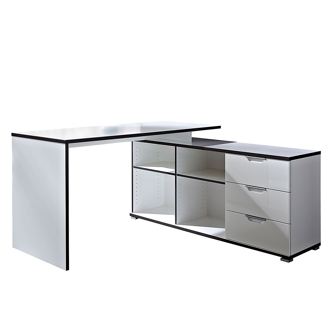 Scrivania angolare office prezzo e offerte sottocosto for Home24 office