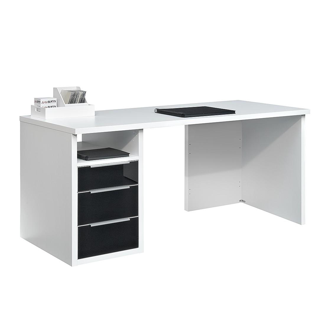 schreibtisch glas schwarz preis vergleich 2016. Black Bedroom Furniture Sets. Home Design Ideas