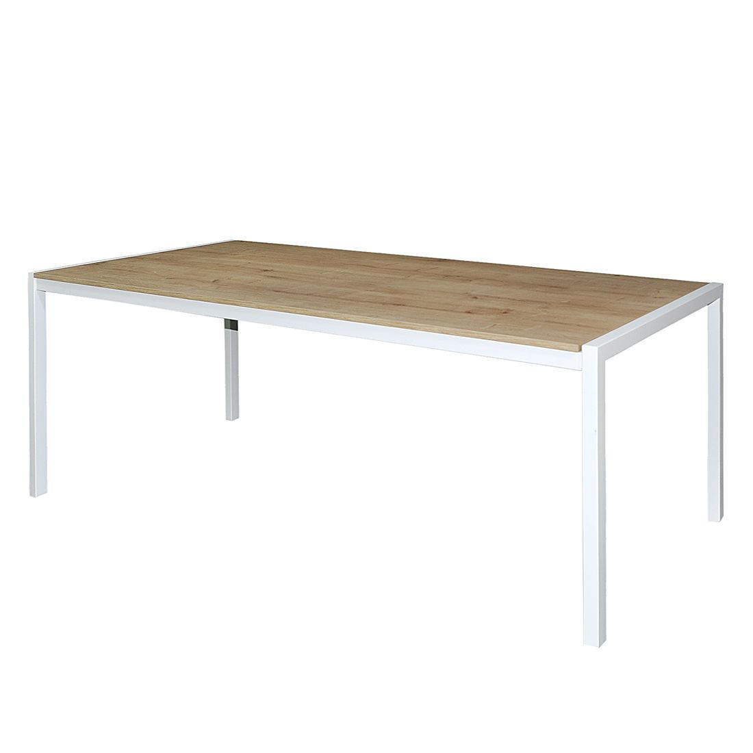 Schreibtisch ipuro wei eiche furnier 140 x 70 cm for Schreibtisch breite 70 cm