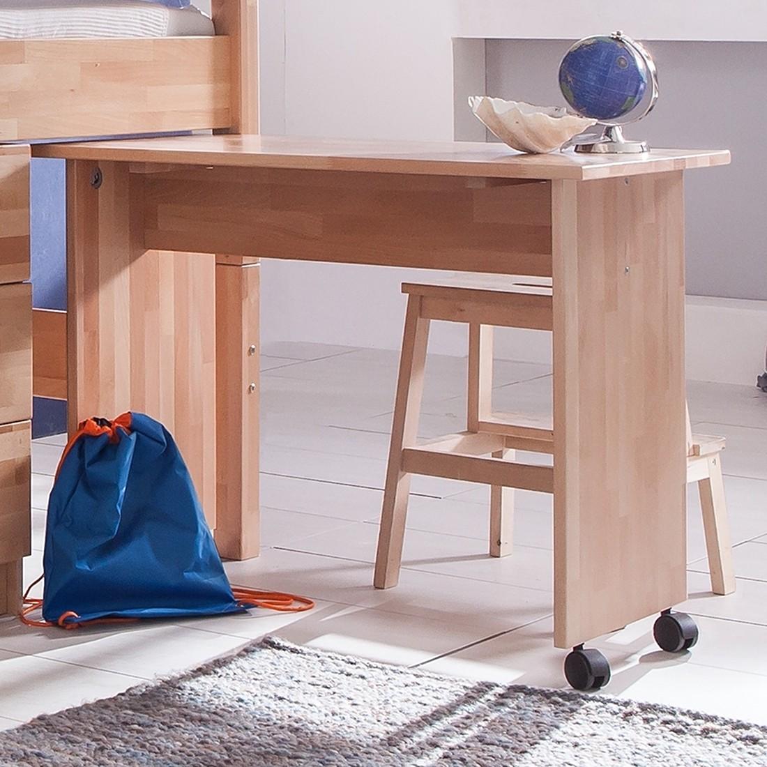 schreibtisch buche massiv g nstig kaufen. Black Bedroom Furniture Sets. Home Design Ideas