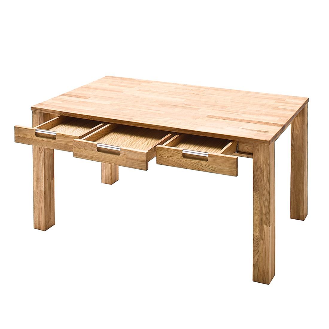 Schreibtisch lumberjack kernbuche massiv ge lt b rotisch for Schreibtisch kernbuche