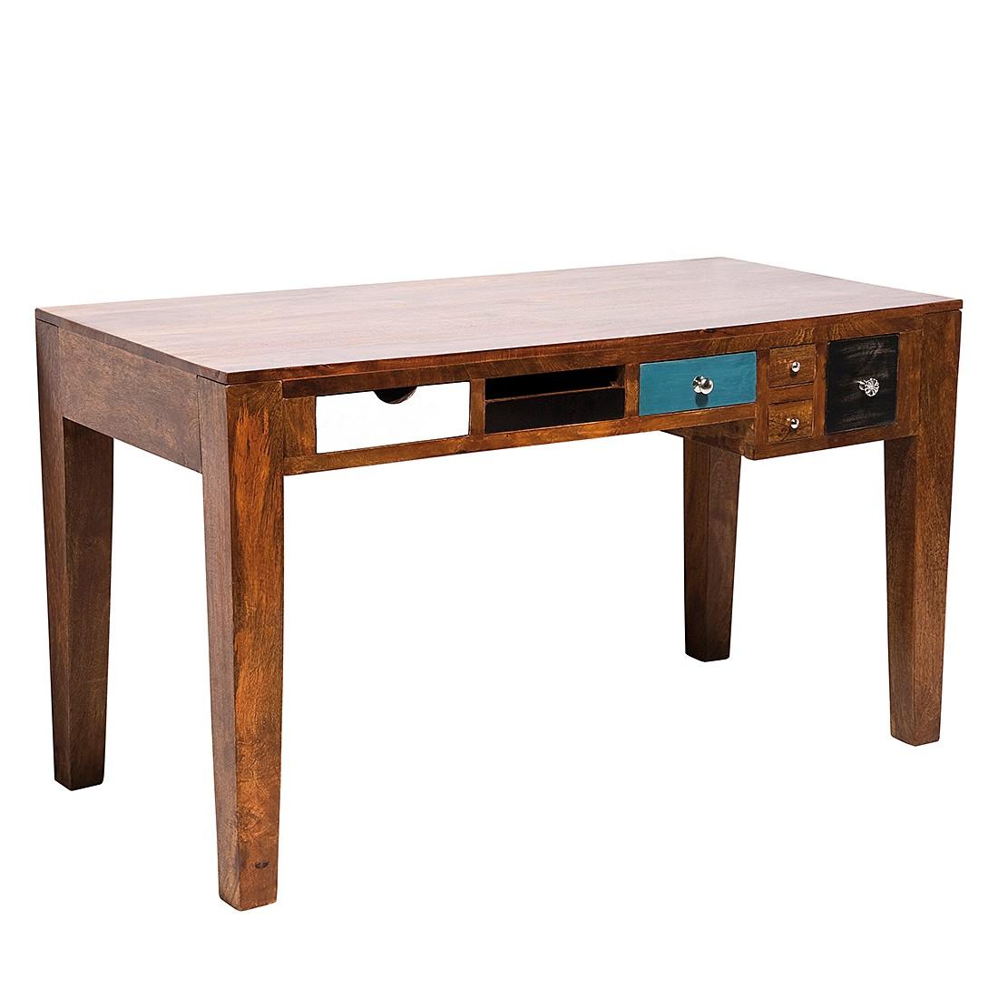 Schreibtisch Babalou - Braun/Bunt, Kare Design