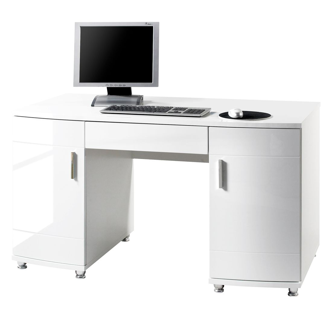 Bureau primox wit home24 office aanbieding kopen for Home24 office