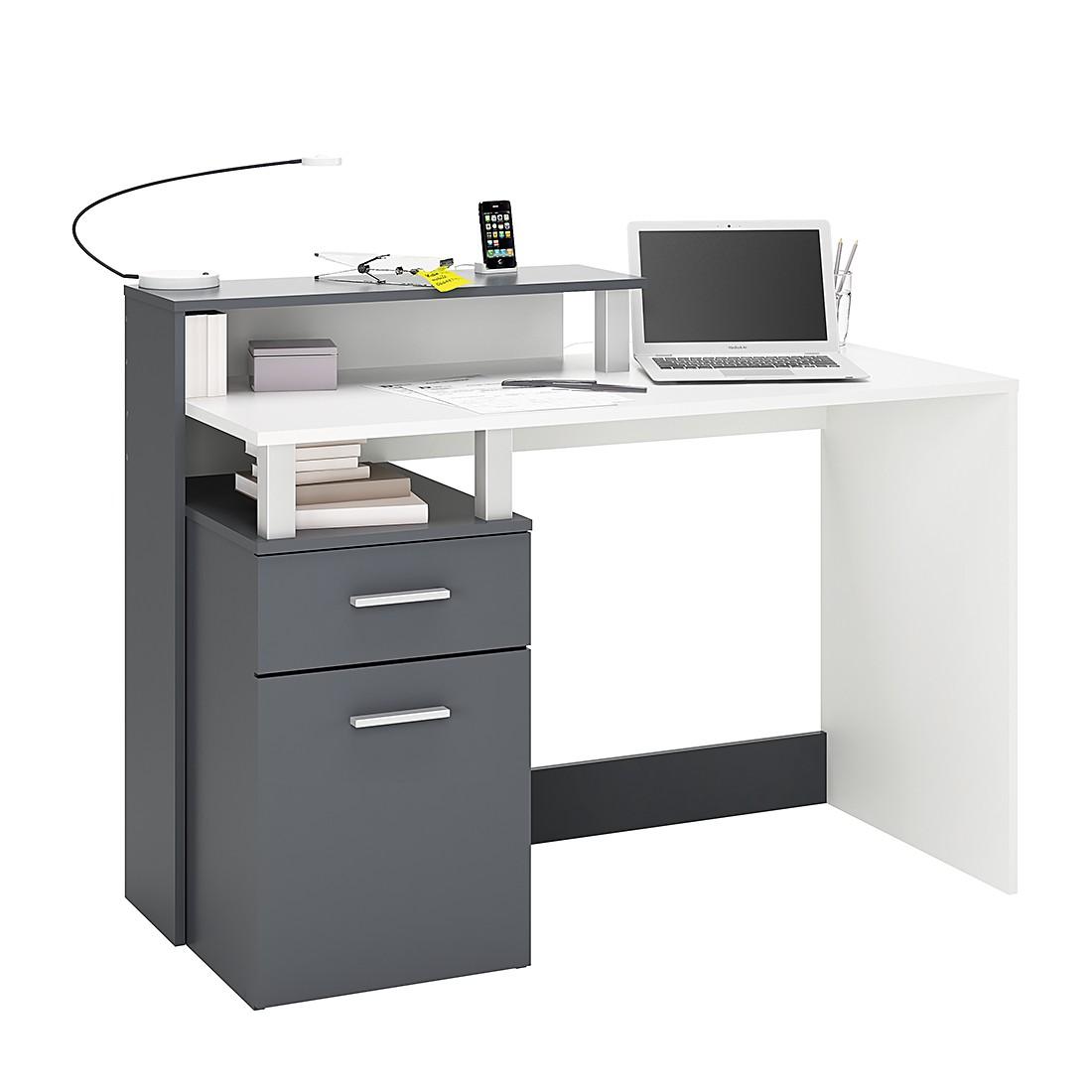 Büromöbel weiss grau  Büromöbel online günstig kaufen über shop24.at | shop24