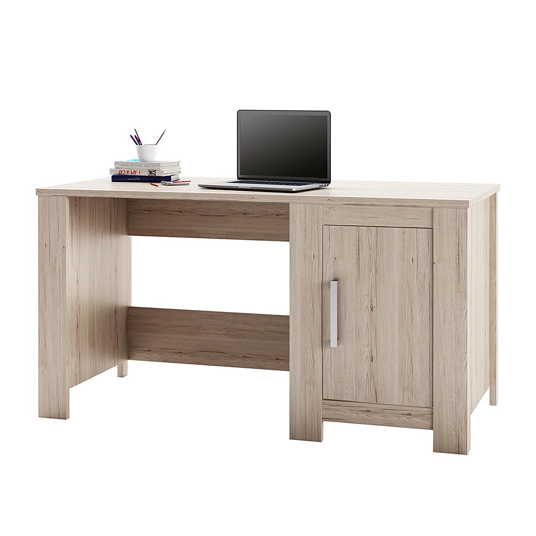 schreibtisch pierro eiche sanremo hell dekor oakland s. Black Bedroom Furniture Sets. Home Design Ideas