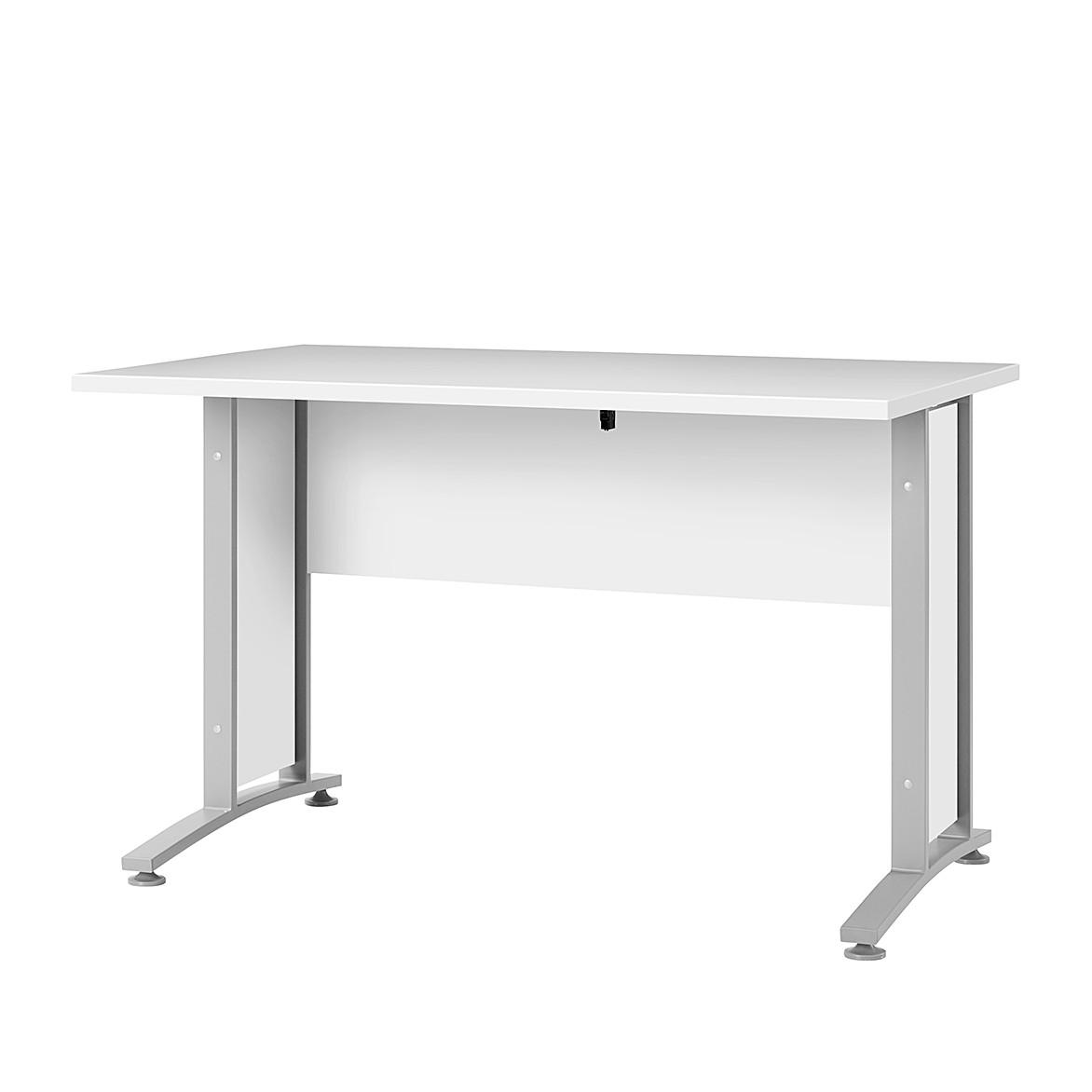 Schreibtisch Quincy – Weiß – 150 x 80 cm, home24office günstig