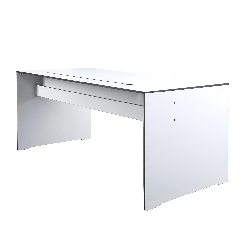 Schreibtisch Riva Office - HPL - Weiß, Conmoto