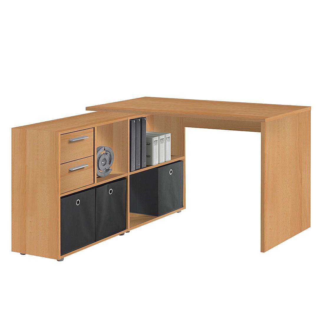 Tische online kaufen for Schreibtisch winkelkombination buche