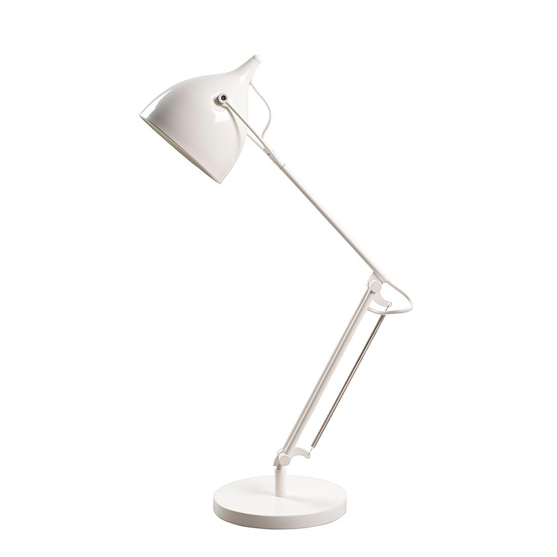 energie  A++, Bureaulamp Reader - wit metaal, Zuiver