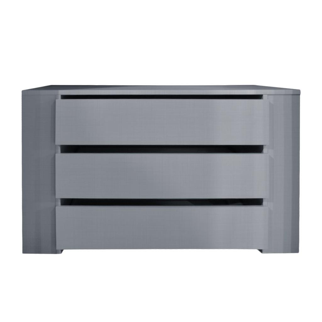 Schubkasteneinsatz (3 Schübe)- Line-grey – 87 cm, Wimex jetzt bestellen