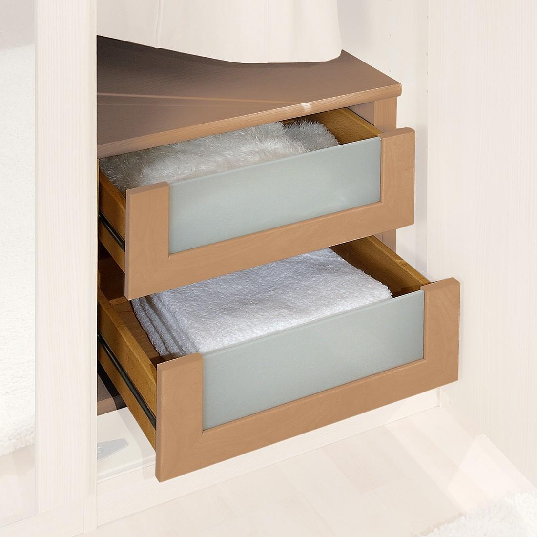 Schubkasteneinsatz – Erle Dekor/Glas – 50er Breite, Althoff jetzt kaufen