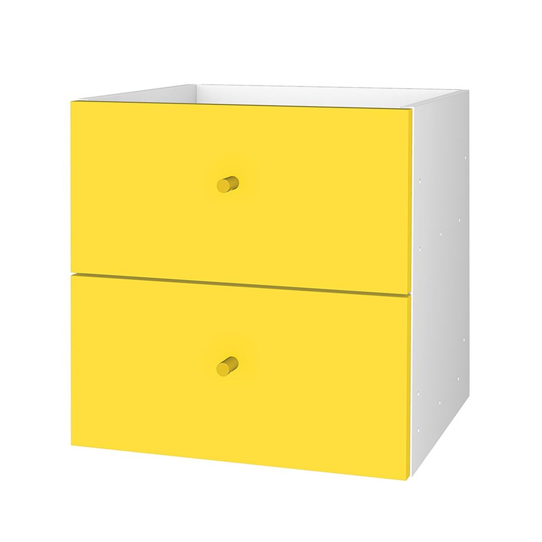 schubkastenelement box gelb tenzo m tz 1114 0045. Black Bedroom Furniture Sets. Home Design Ideas