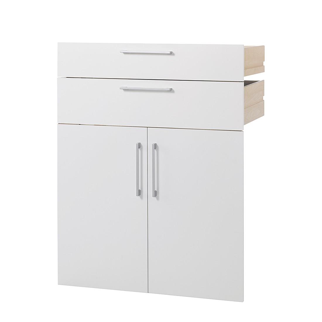 Schubladen-Türen-Set Quincy - Regalzubehör - Weiß