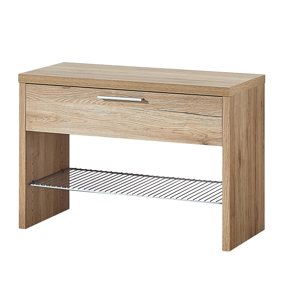 garderobenbank eiche preisvergleiche erfahrungsberichte und kauf bei nextag. Black Bedroom Furniture Sets. Home Design Ideas
