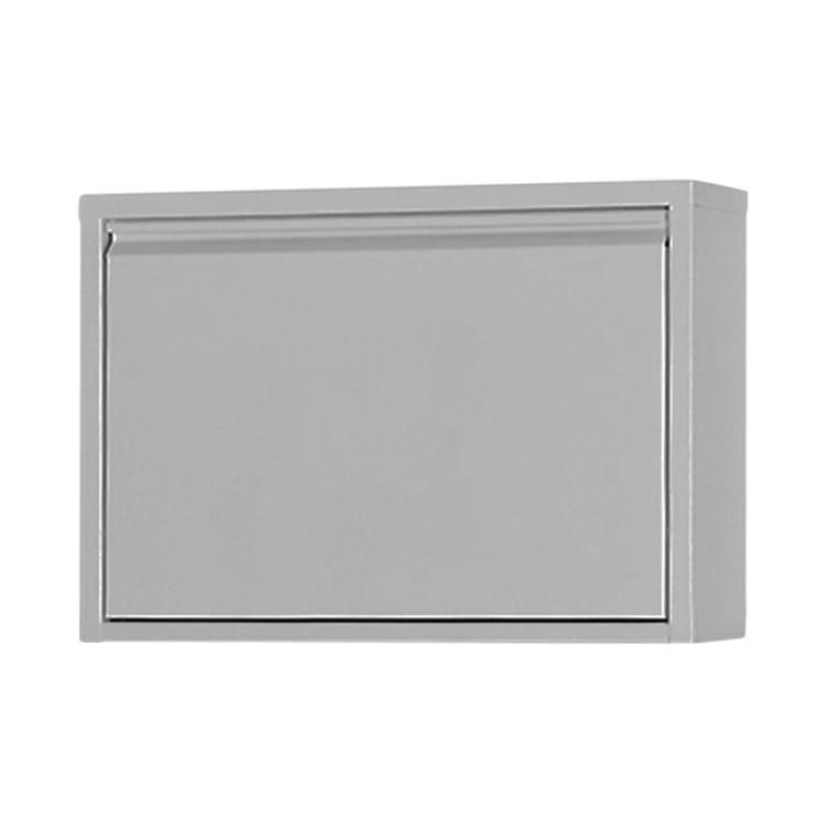 Schuhschrank Cabinet – Metall – Grau, Magazin-Möbel jetzt bestellen