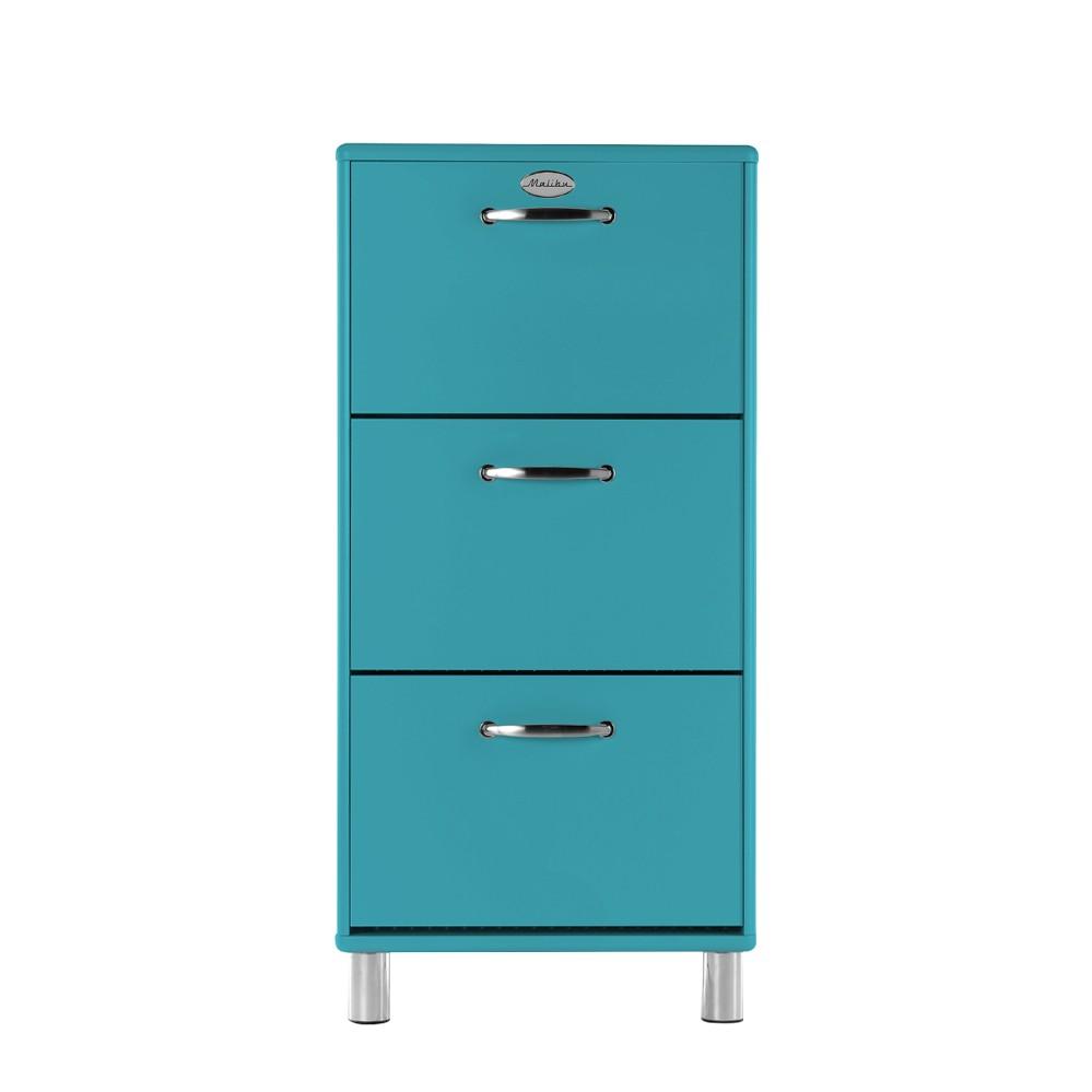 schuhschrank malibu blau schuhkommode schuhkipper schuh schrank kommode kipper ebay. Black Bedroom Furniture Sets. Home Design Ideas