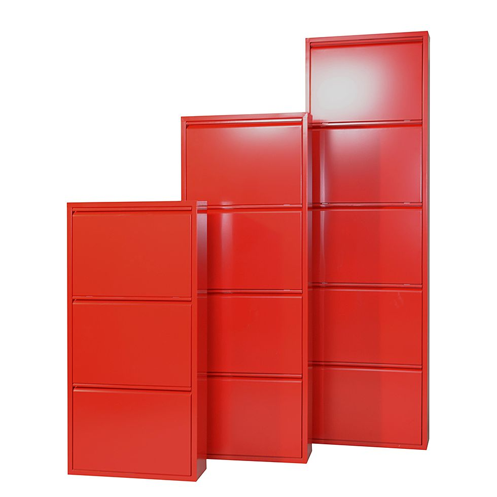 schuhschrank cabinet gr n 3 klappen h he 100 cm. Black Bedroom Furniture Sets. Home Design Ideas