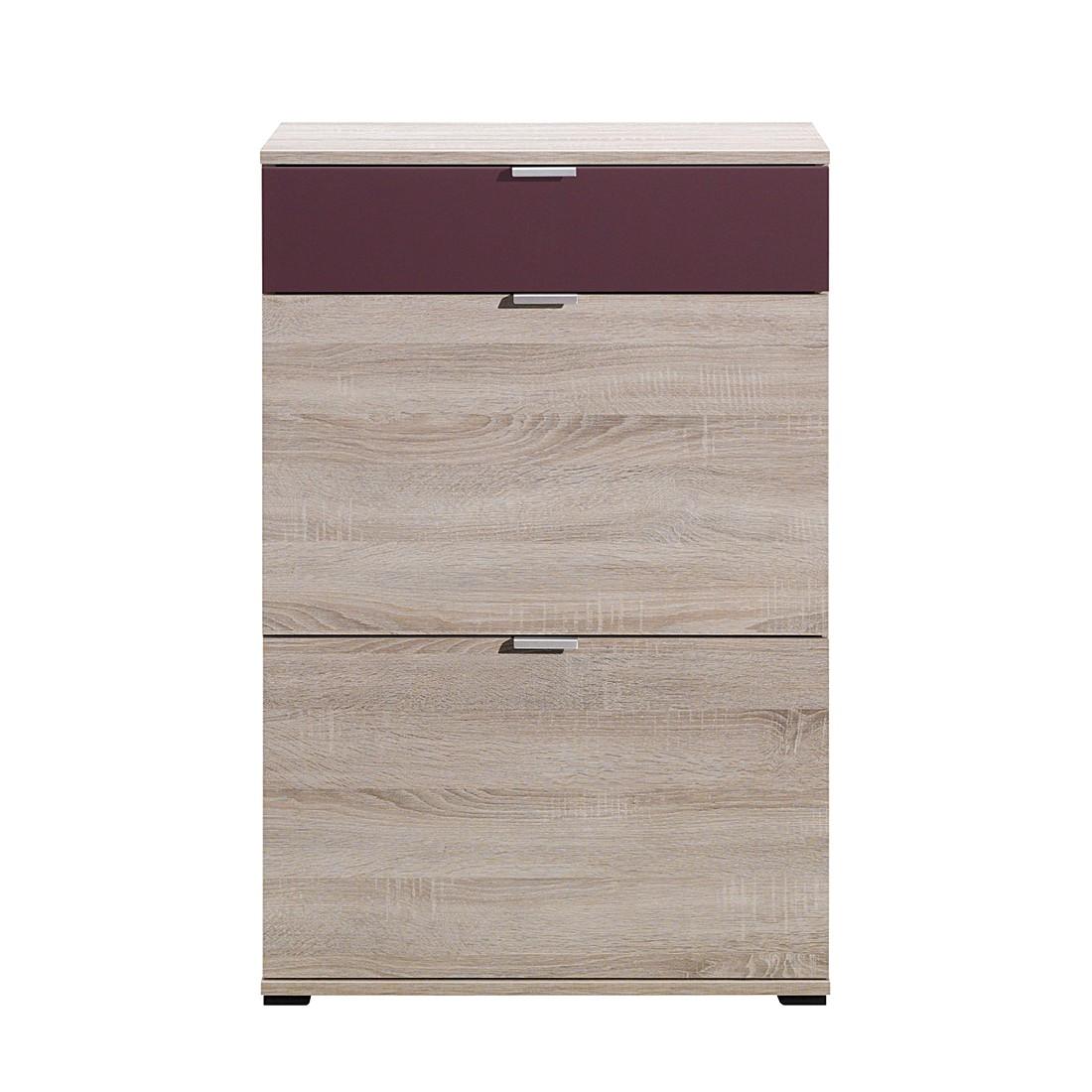 schuhschrank schuhsta i eiche dekor flieder. Black Bedroom Furniture Sets. Home Design Ideas