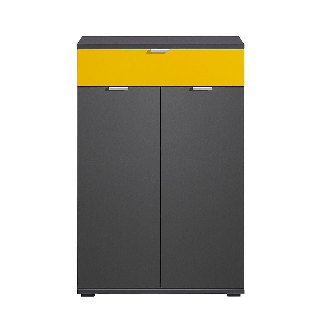 Schuhschrank Schuhsta II – Graphit/Gelb, CS Schmal jetzt kaufen