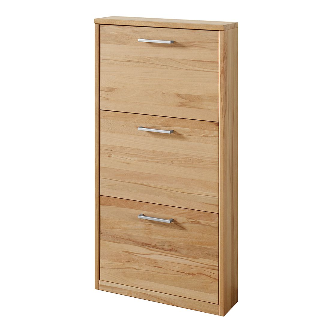 schuhschrank woodfull i kernbuche massiv ge lt schuhschrank woodfull i 3 klappen. Black Bedroom Furniture Sets. Home Design Ideas