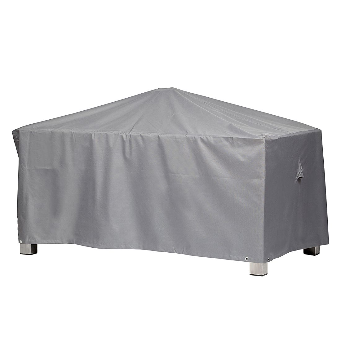 Schutzhülle Premium für rechteckigen Gartentisch (225 x 115 cm) - Polyester, mehr Garten