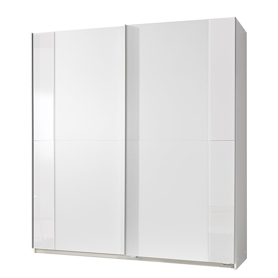 Schwebetürenschrank Avenue – Alpinweiß/Weiß – Schrankbreite: 135 cm – 2-türig, Wimex bestellen