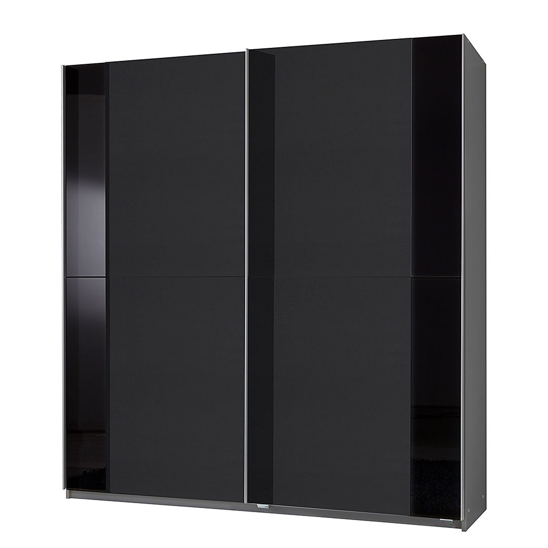schwebet renschrank avenue anthrazit alu schwarz schrankbreite 135 cm 2 t rig wimex. Black Bedroom Furniture Sets. Home Design Ideas