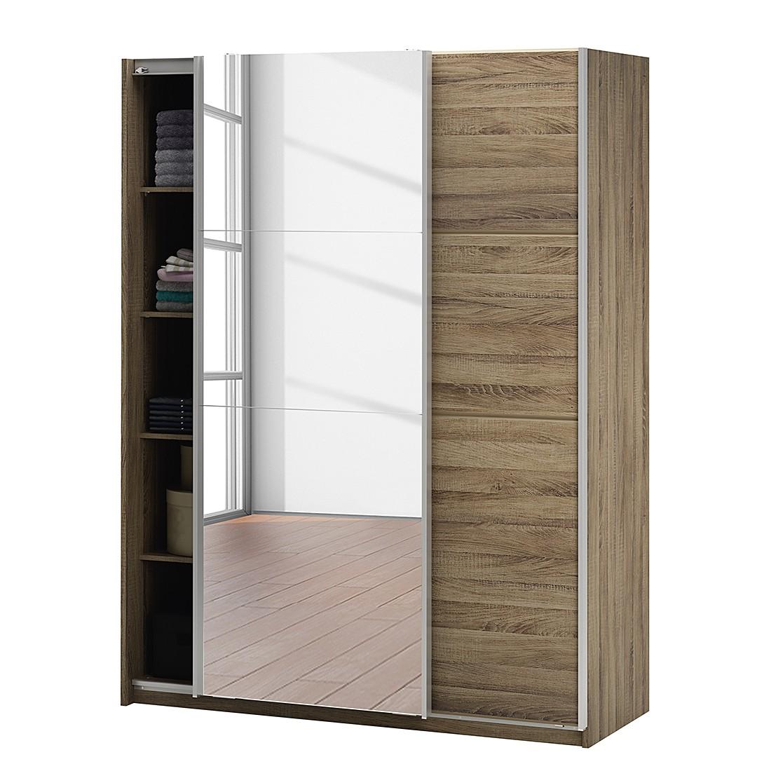 schwebet renschrank bayonne eiche dunkel dekor california m. Black Bedroom Furniture Sets. Home Design Ideas