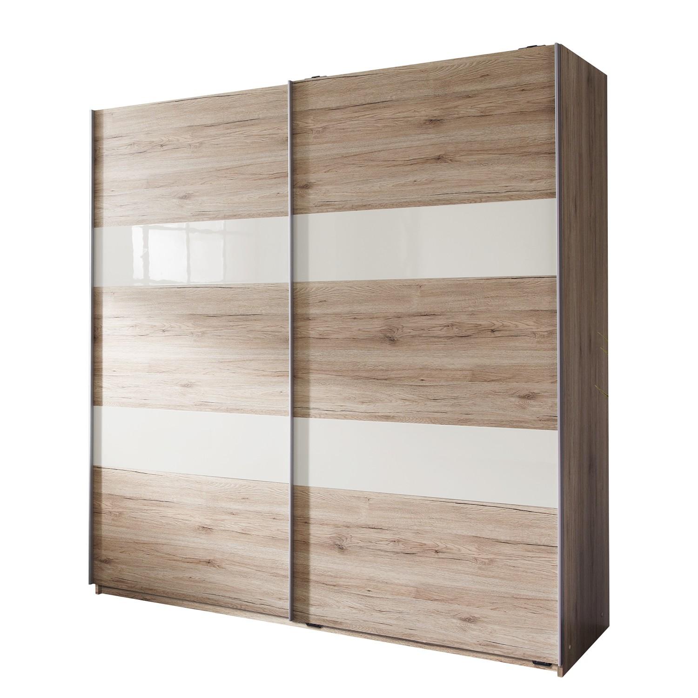schwebet renschrank tyrawley ii eiche sanremo dekor 135 cm 2 t rig wimex g nstig kaufen. Black Bedroom Furniture Sets. Home Design Ideas