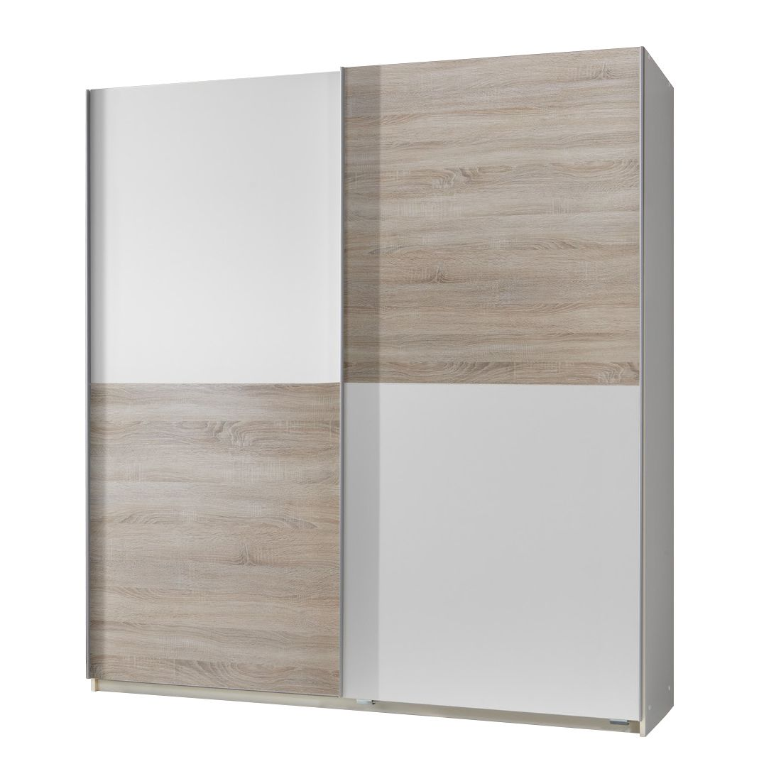 breite 180 cm h he 198 cm tiefe 64 cm inneneinteilung 90i90 cm. Black Bedroom Furniture Sets. Home Design Ideas