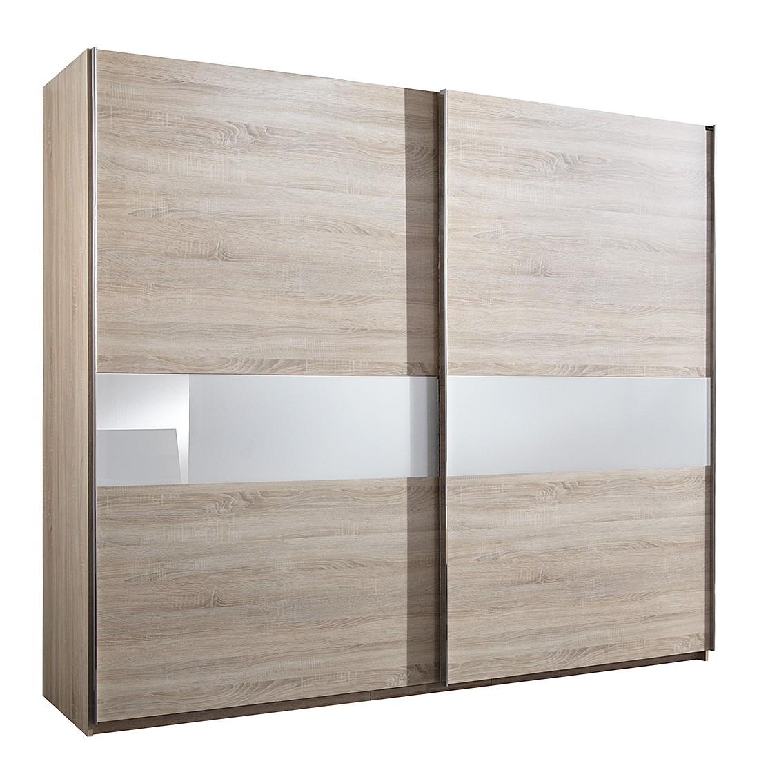 schwebet renschrank add on c eiche s gerau dekor glas sahara grau schrankbreite 150 cm 2. Black Bedroom Furniture Sets. Home Design Ideas