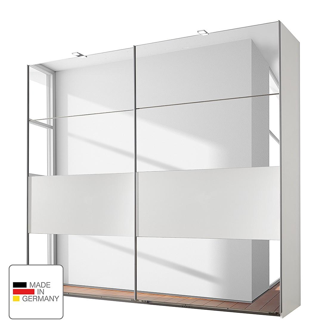 Schuifdeurkast Falk - alpinewit Kastbreedte: 225cm - 2-deurs, Wimex