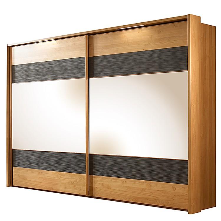 schwebet renschrank gloria erle teilmassiv spiegel natur lackiert braun zubeh r mit rahmen. Black Bedroom Furniture Sets. Home Design Ideas