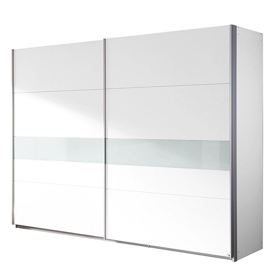 schwebet renschrank holy white alpinwei glas wei breite 226 cm. Black Bedroom Furniture Sets. Home Design Ideas