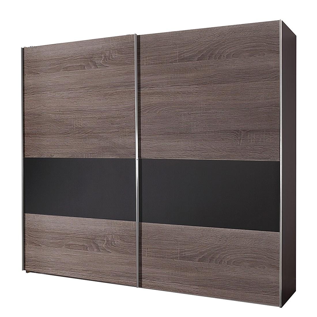 lodge eiche dekor lava schrankbreite 200 cm 2 t rig. Black Bedroom Furniture Sets. Home Design Ideas
