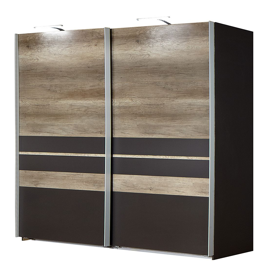 schwebet renschrank manula lava wildeiche dekor. Black Bedroom Furniture Sets. Home Design Ideas