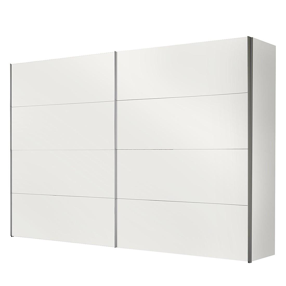 Ante Scorrevoli Portiers Bianco Polare Larghezza Armadio 250 Cm 2 Ante  #6E6E5D 1100 1100 Mobiletto Lavandino Cucina Ikea