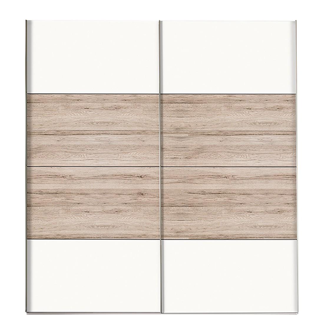 sonoma eiche san remo unterschied, schwebetürenschrank portiers - polarweiß/ sanremo eiche dekor - bxh, Design ideen