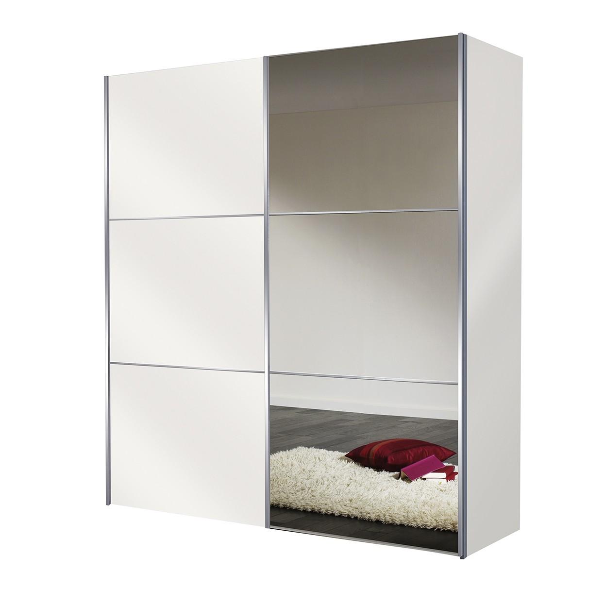 schwebet renschrank ruby mit spiegel wei solutions. Black Bedroom Furniture Sets. Home Design Ideas